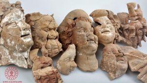 Kurul Kalesi'nde 2 Bin 100 Yıllık Tanrı Büstleri Bulundu