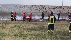 Ordu-Giresun Havalimanında Yangın Tatbikatı