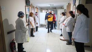 Vali Sonel, Sağlık Kurum ve Kuruluşlarında İncelemelerde Bulundu