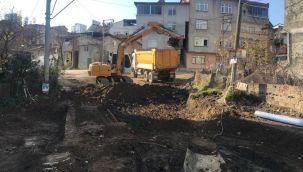 Fatsa'da Altyapı Çalışmaları Sürüyor