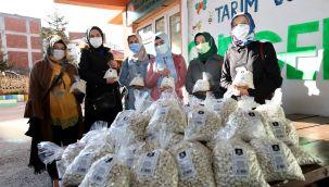 Gürgentepeli Üreticilerin Fasulyesi Satın Alındı