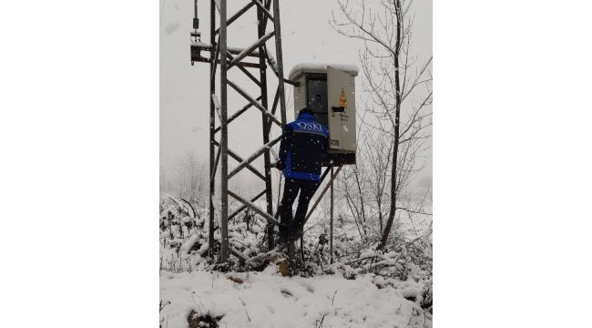 OSKİ'den Kar Mesaisi