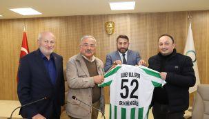 Başkan Güler, Ulubey'de Yapılan Çalışmaları Değerlendirdi