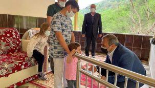 Vali Sonel, Çatalpınar İlçesini Ziyaret Etti