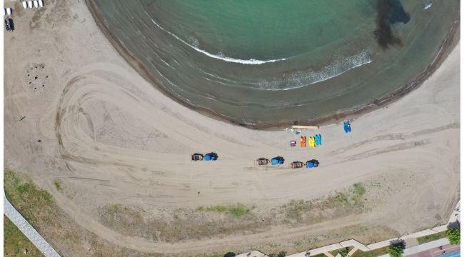 Plajlar Sezona Hazırlanıyor