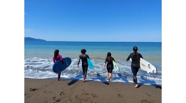 Sörfçüler Eğitime Başladı