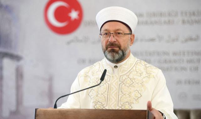 Ali Erbaş Diyanet İşleri Başkanlığı'na tekrar atandı