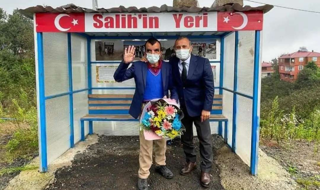 Ordu Valisi Tuncay Sonel Salih'i ziyaret etti